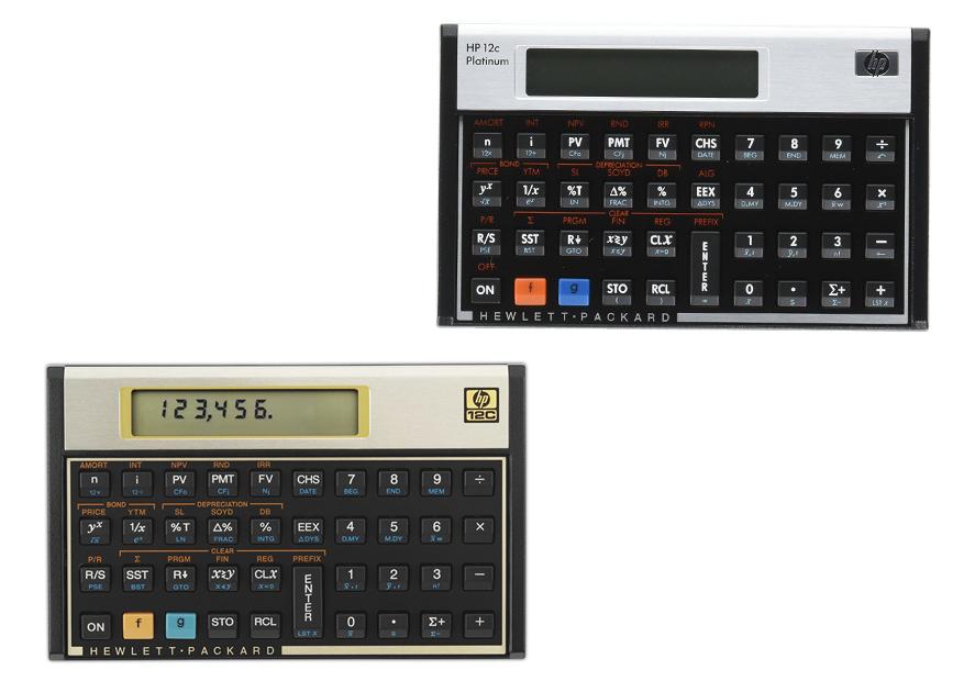 HP 12C vs HP 12C Platinum – Howibookedit com